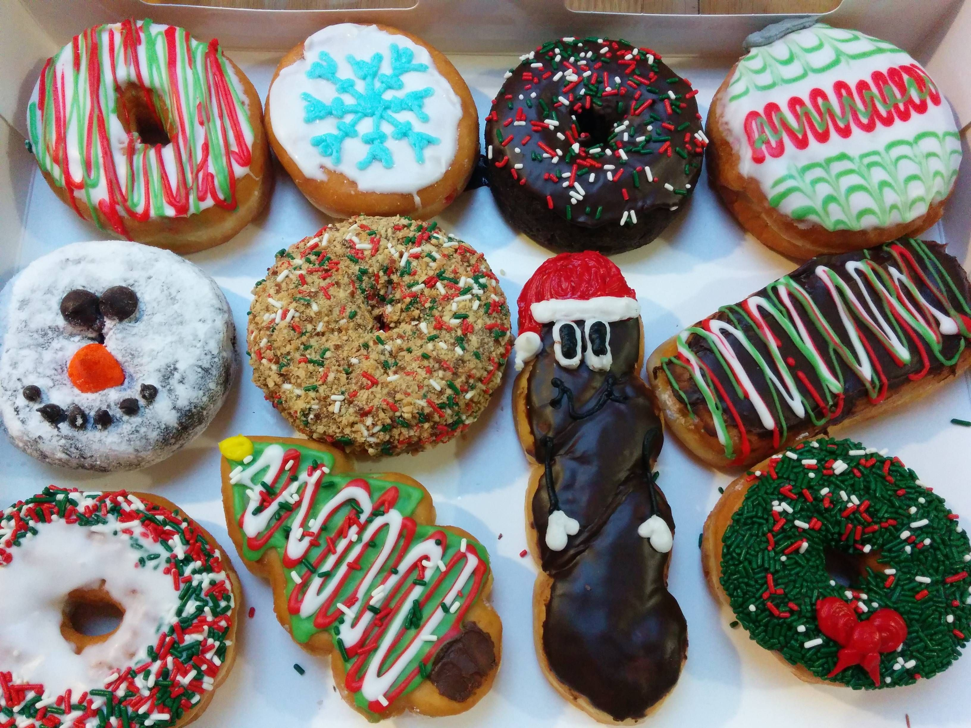 Mr Hankey Christmas Donuts Christmas Donuts Christmas Food Donuts