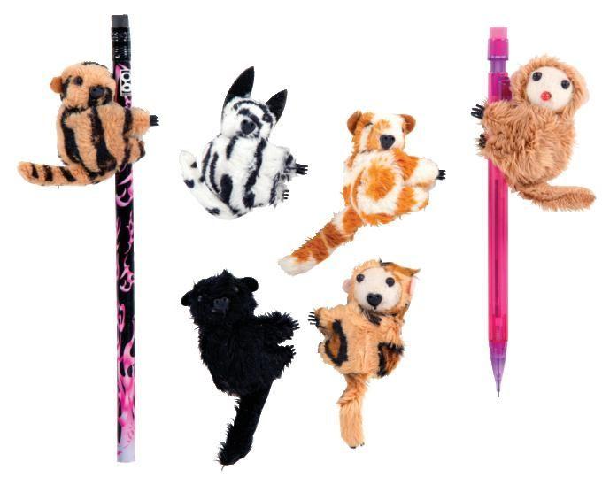 Clip On Jungle Critters Plush Animals Teddy Bear Stuffed Animal Critter
