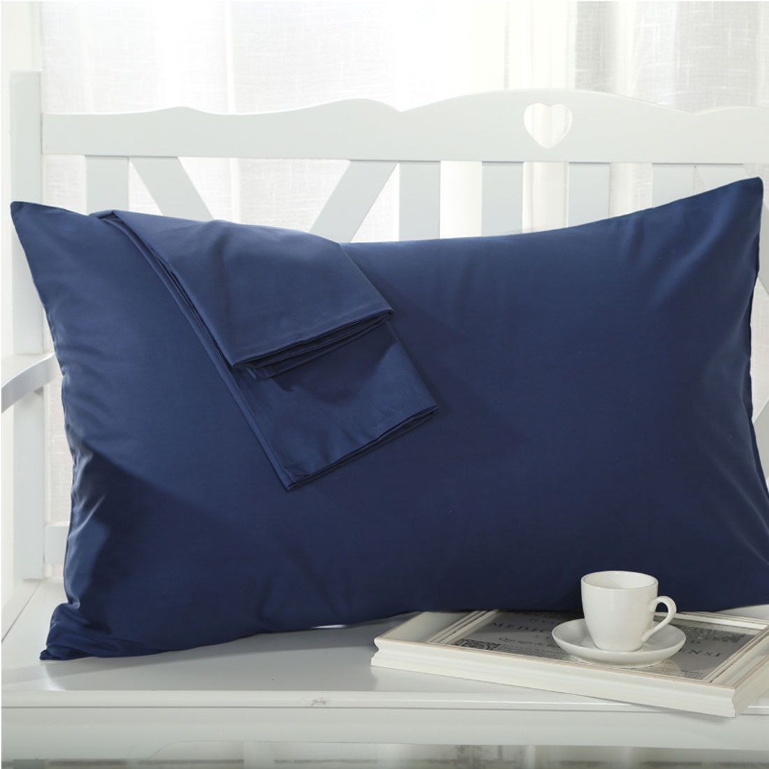 thread count egyptian cotton standardqueen size pillowcases