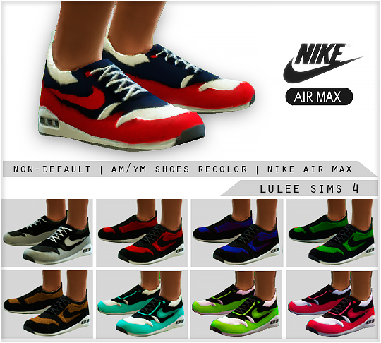My Sims 4 Blog: Nike Air Max by LuleeSims