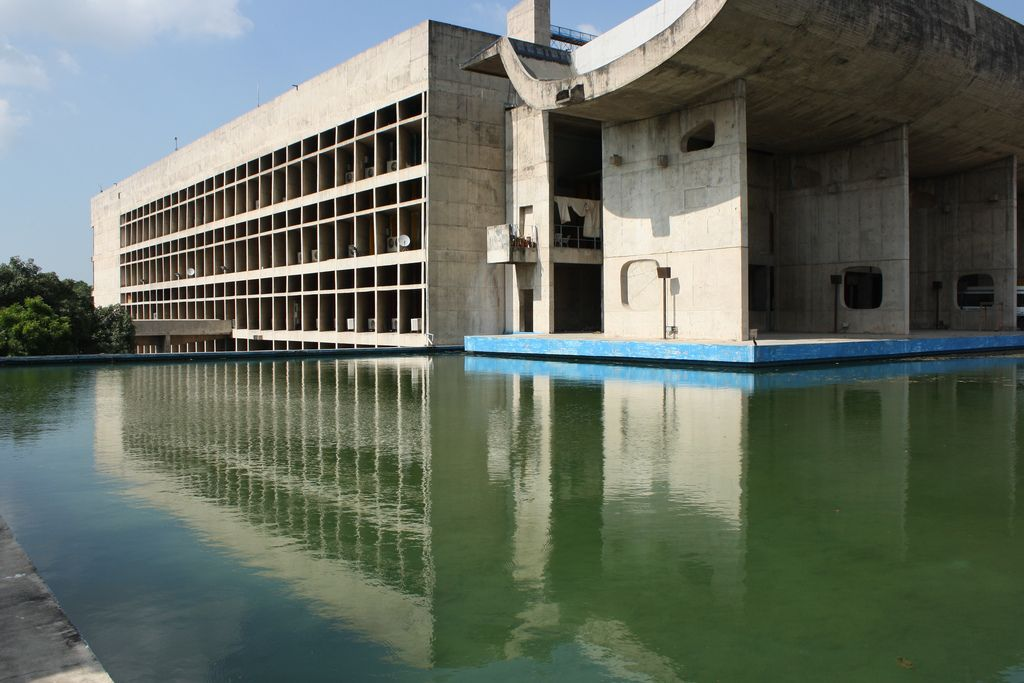 Le Corbusier's Palace of Assembly, Chandigarh