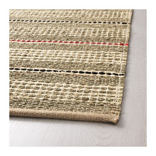 SODERUP Rug, Flatwoven IKEA Seagrass Is A Durable, Recyclable Natural  Material That Insulates And