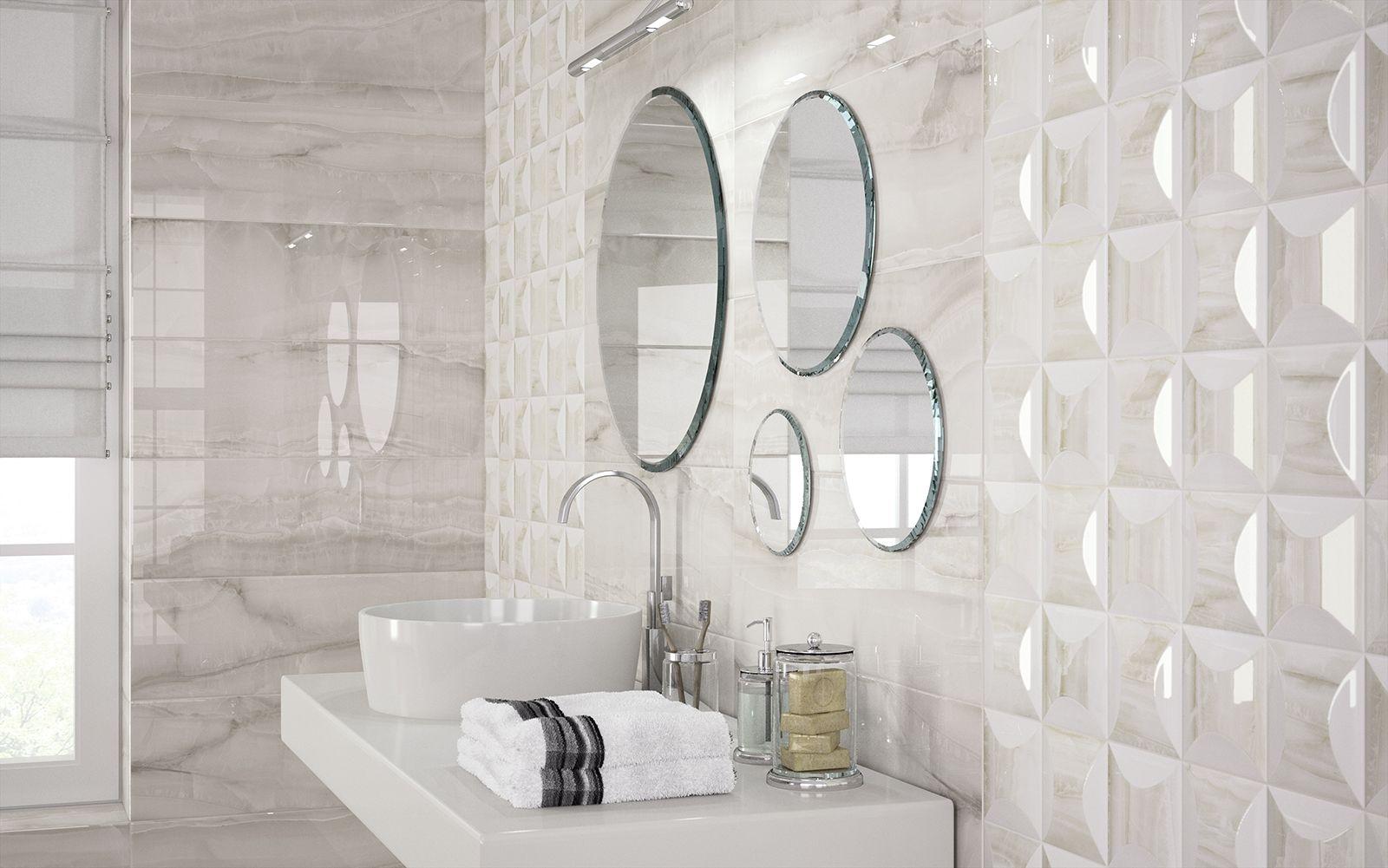 Azulejos cuarto de ba o cer mica y porcel nico marazzi for Concreto de cera en los azulejos del bano