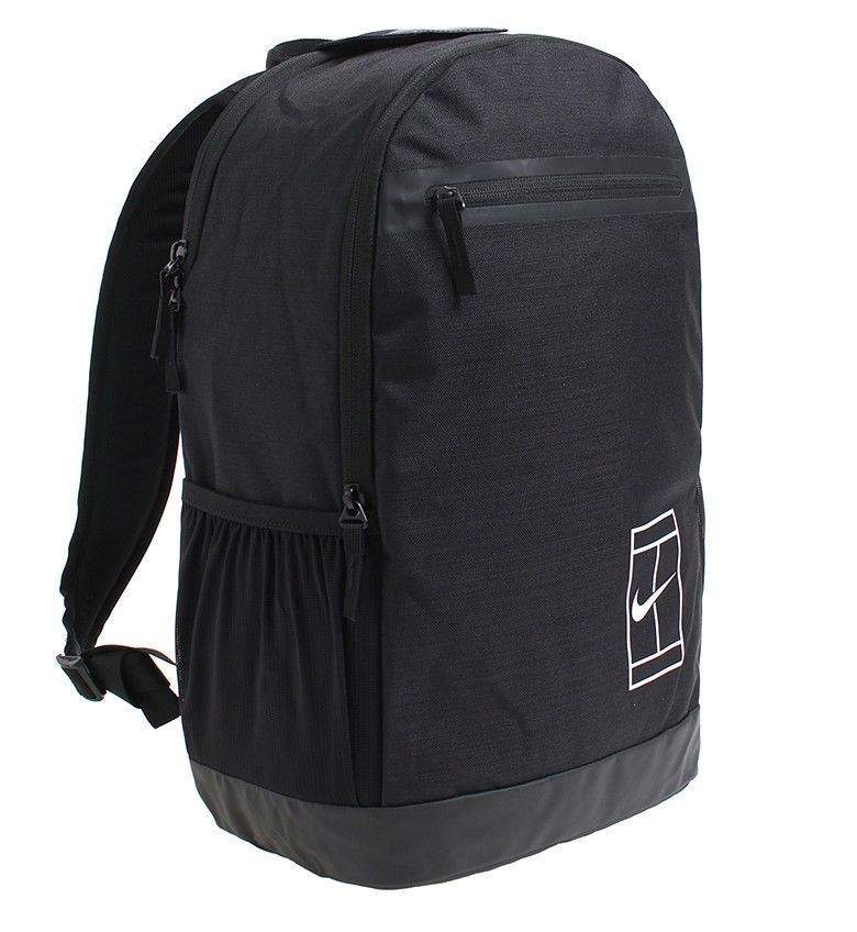 Nike Court Tennis Backpack Bag Black Racket Badminton Fitness Outdoor Ba5452 010 Nike Backpack Tennis Bags Backpacks Tennis Bags Tennis Bag