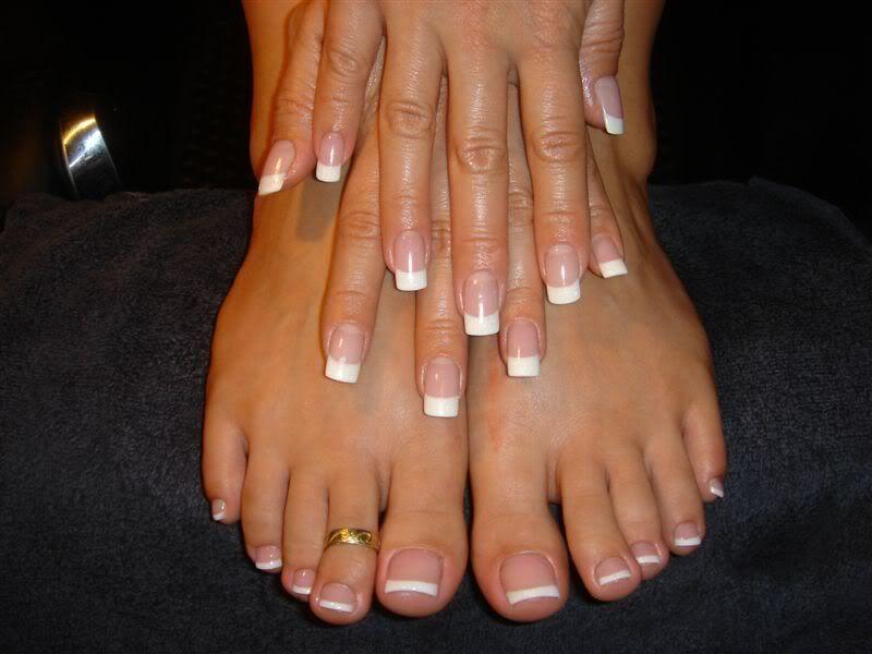 Patricia Heaton Tammy Taylor Nails Perfect Nails Square Gel Nails