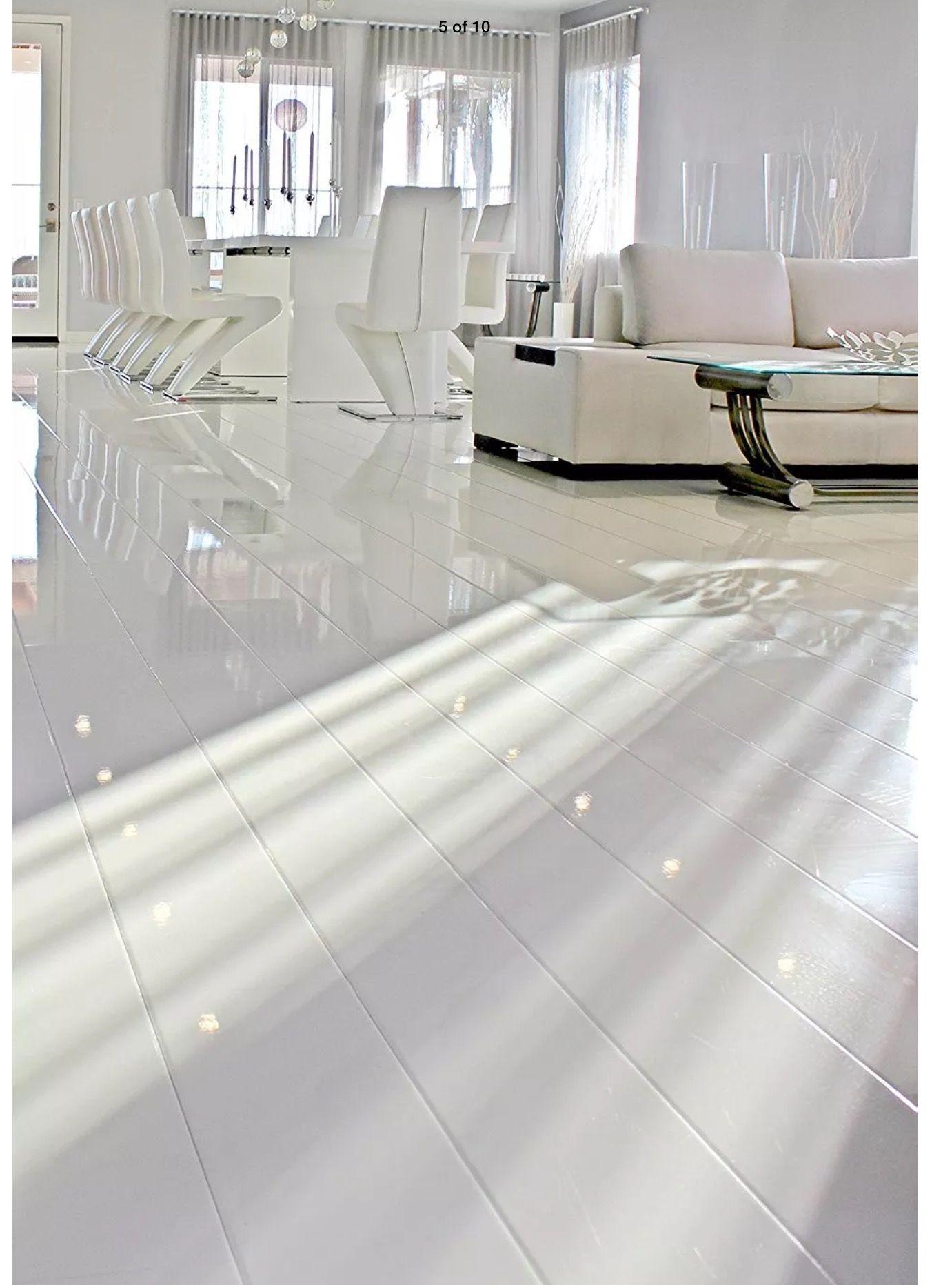 High Gloss Flooring For Jcondo White Laminate Flooring Laminate Flooring White Laminate