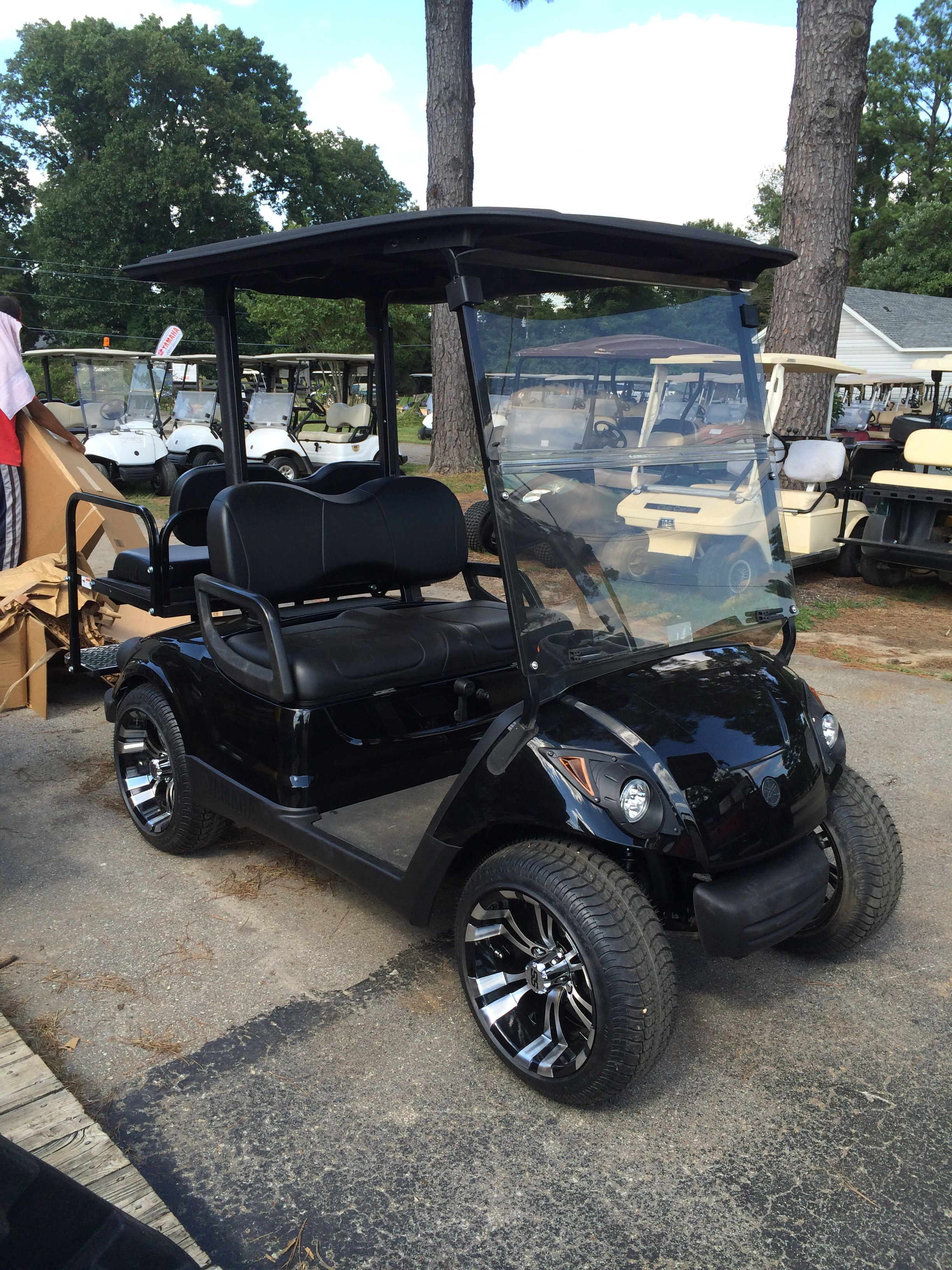 Dart's Carts Blackout Edition, Purchased by Mr. Johnson