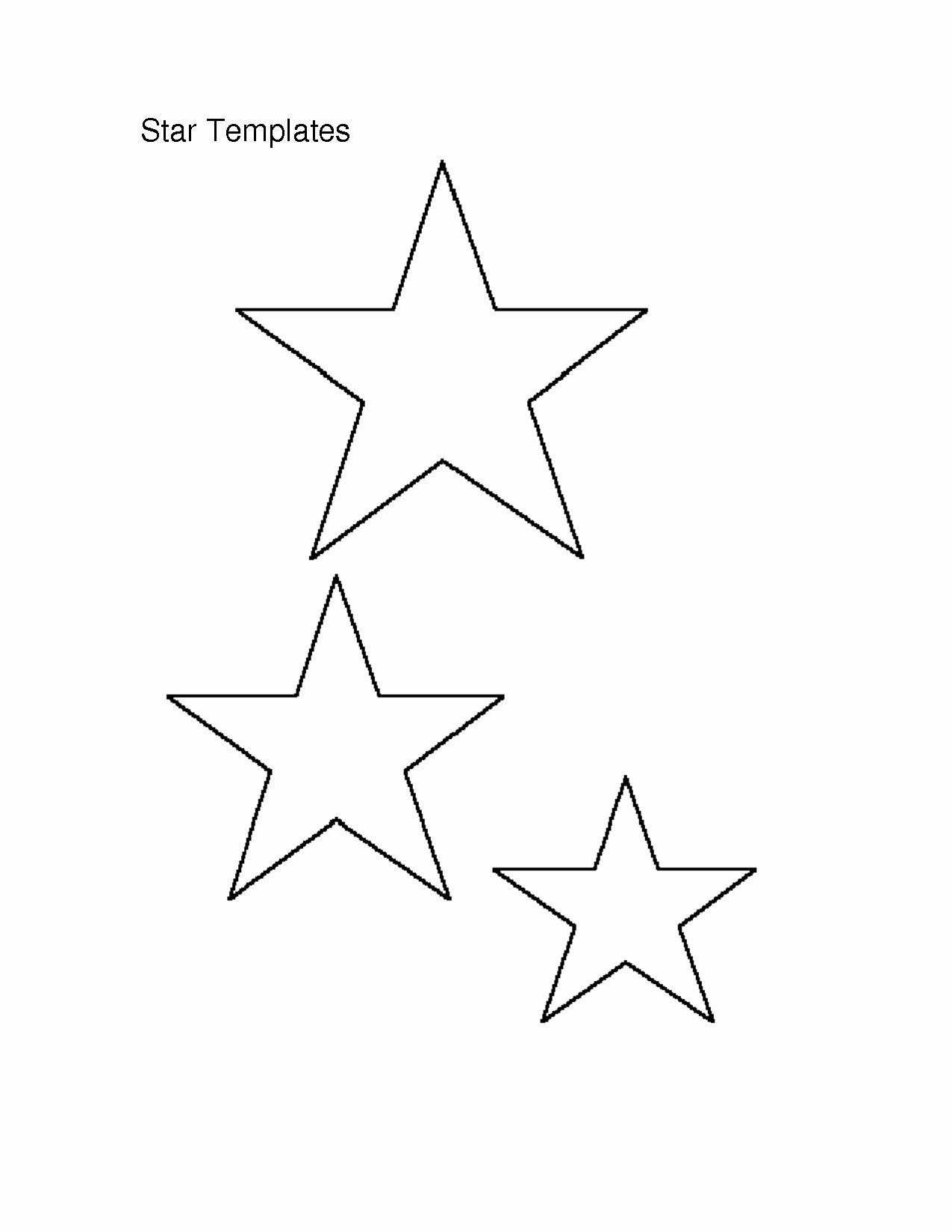 3 Inch Star Template Lovely 7 Best Of Free Printable Star Templates Star Template Star Template Printable Star Outline