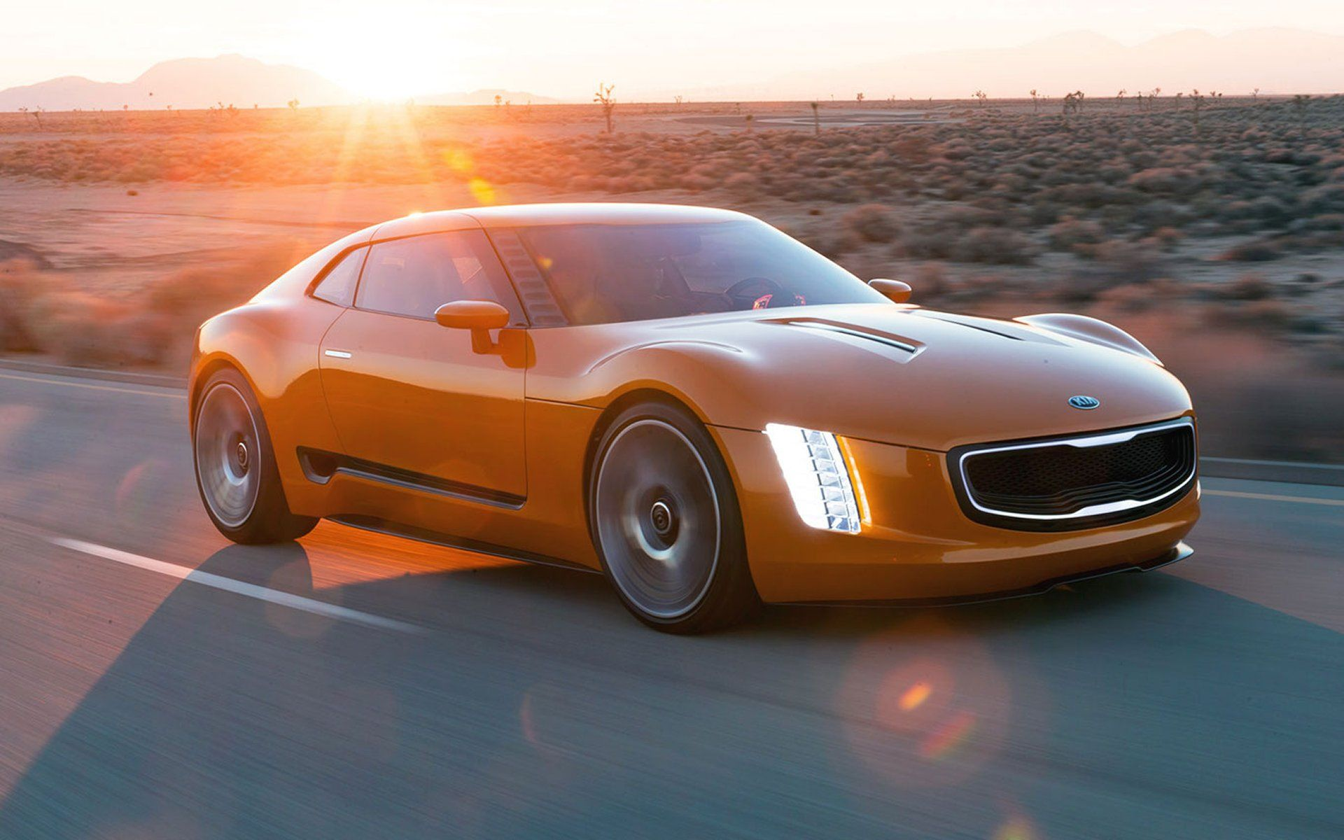 Kia Concept Cars GT4 Stinger Sports Car Concept cars