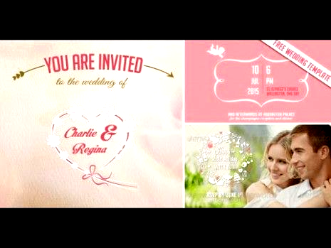 Whats So Trendy About Video Wedding Invitation Template That Everyone Went Crazy Over It Video Wedding Invit In 2020 Wedding Invitation Templates Invitation Template