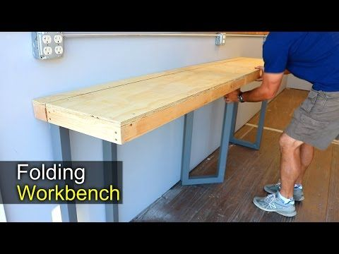 Diy Shipping How Shop Container Youtube To Workbench Folding g7bf6y