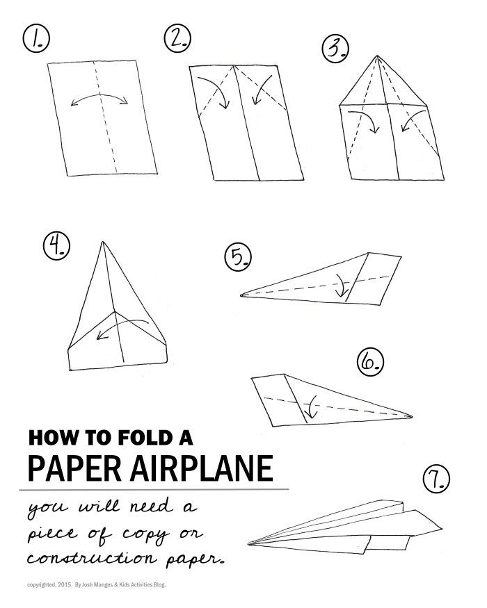 how to make a paper plane that flies 10 meters