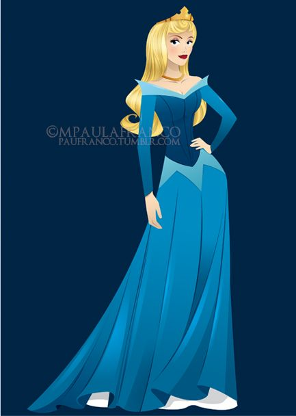Princess Aurora- for some reason I've started liking the blue dress more,. Sleeping Beauty ...