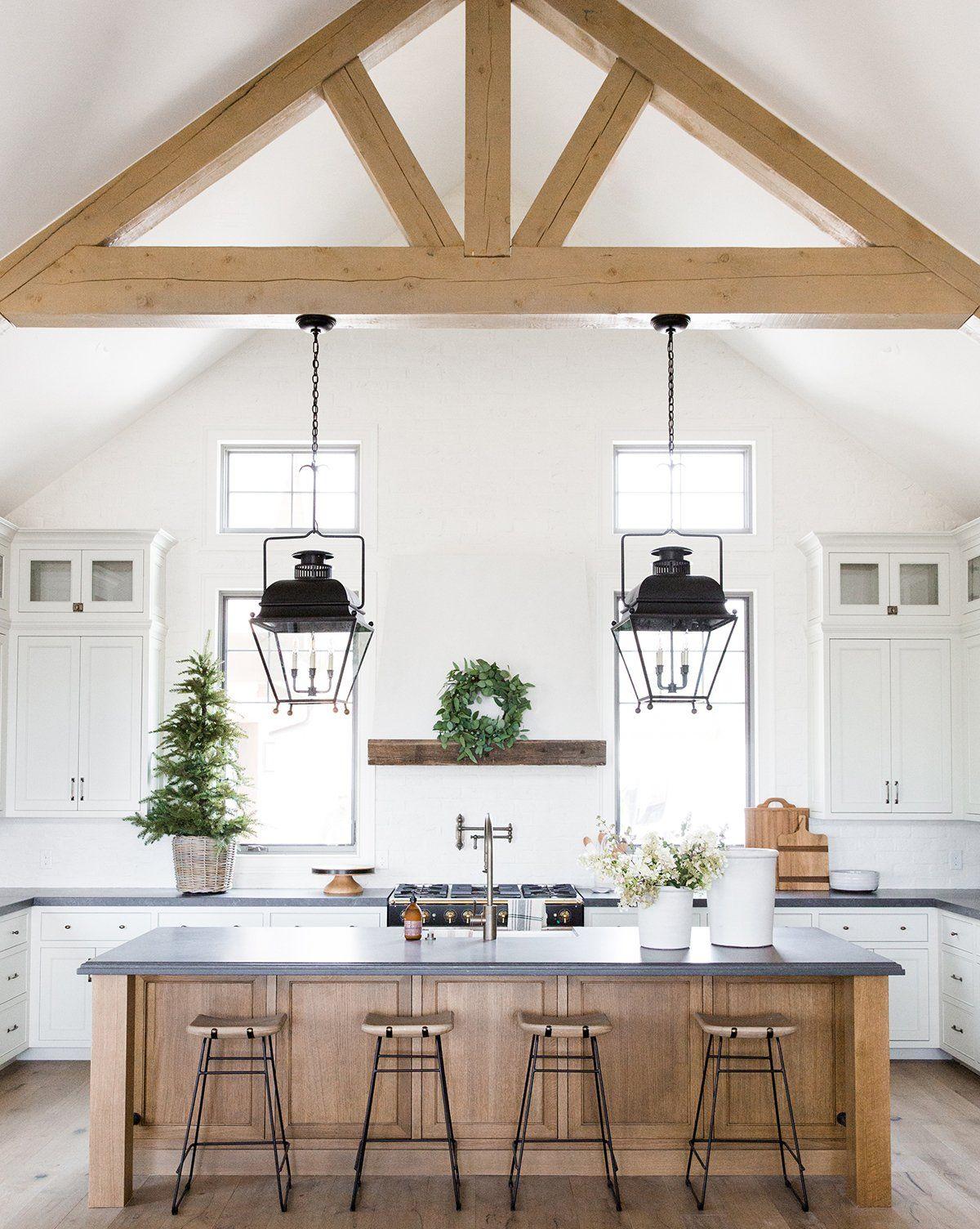 Best Crackle Cream Planter Large Farmhouse Kitchen Decor 400 x 300
