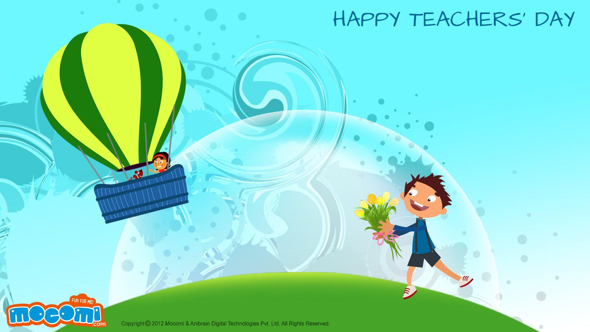 Happy Teachers Day 02 - Desktop Wallpapers For Kids -2604