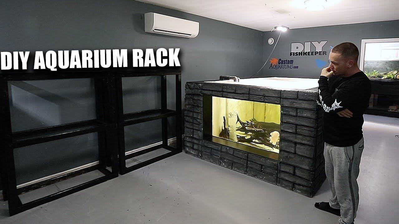 Diy Aquarium Racks The King Of Diy Diy Aquarium Aquarium Stands Aquarium