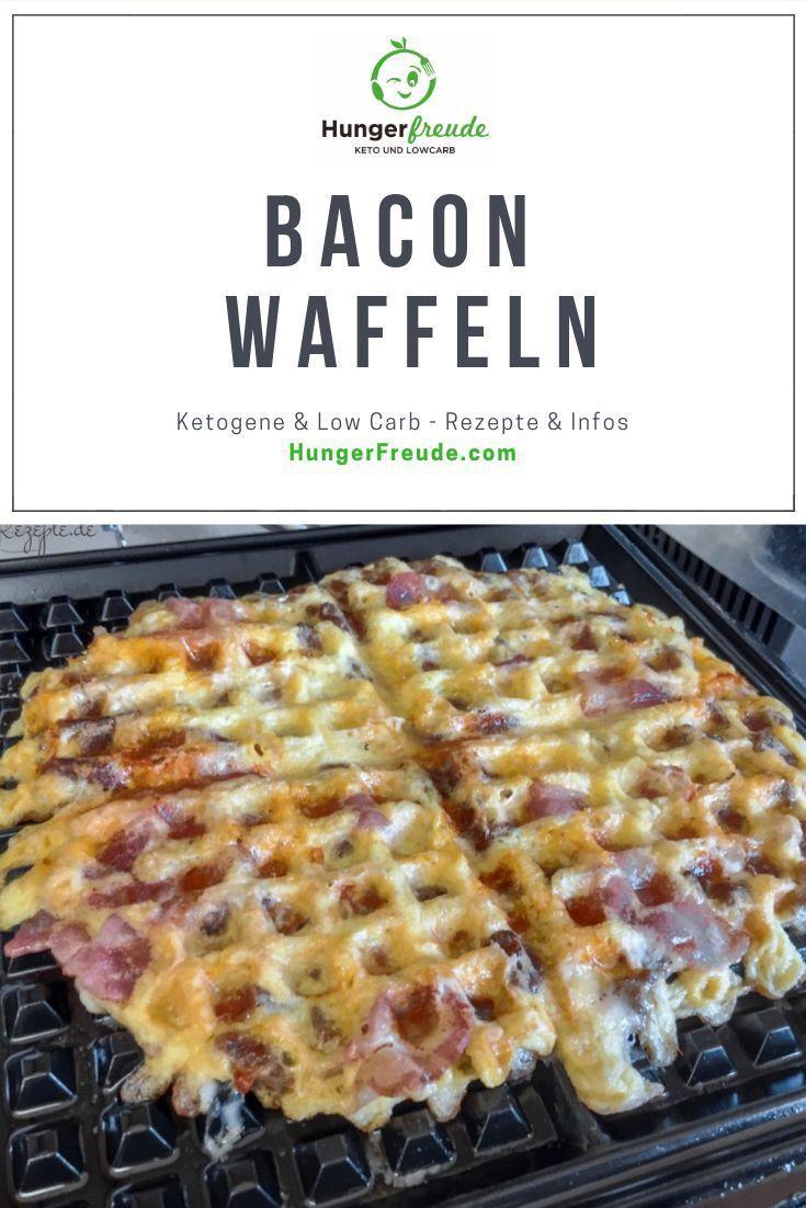 Ein einfaches leckeres Lowcarb Rezept. Bacon Waffeln schmecken super!