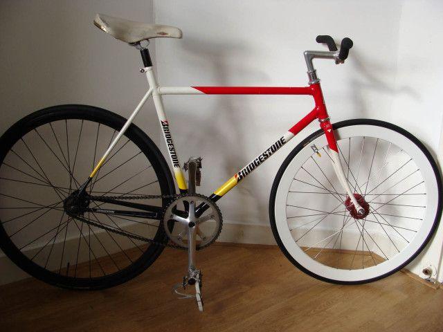For Sale: Bridgestone funny bike/lo-pro track frame with some NJS ...