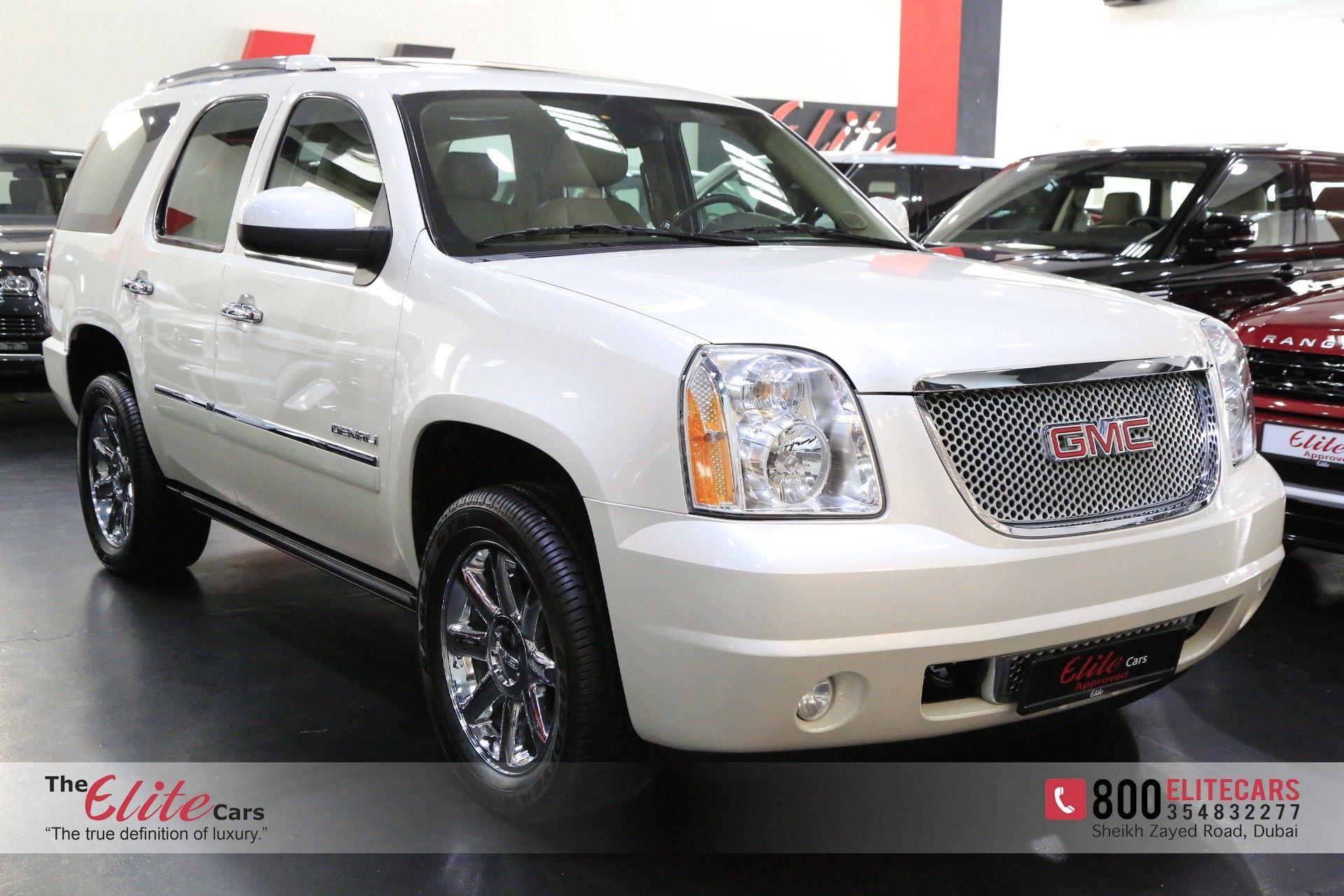 Gmc Yukon Denali 2012 For Sale In Dubai Aed 109 000 White Sold