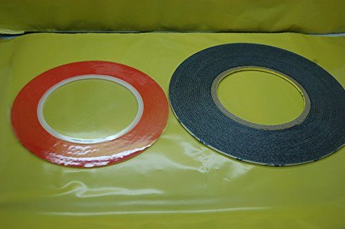 Genuine 3m 2mm X Red 33mblack 50m Very Strong Double Sided Adhesive Tape Set For Mobile Phone And Craft With Images Double Sided Adhesive Tape Tape Crafts Adhesive Tape