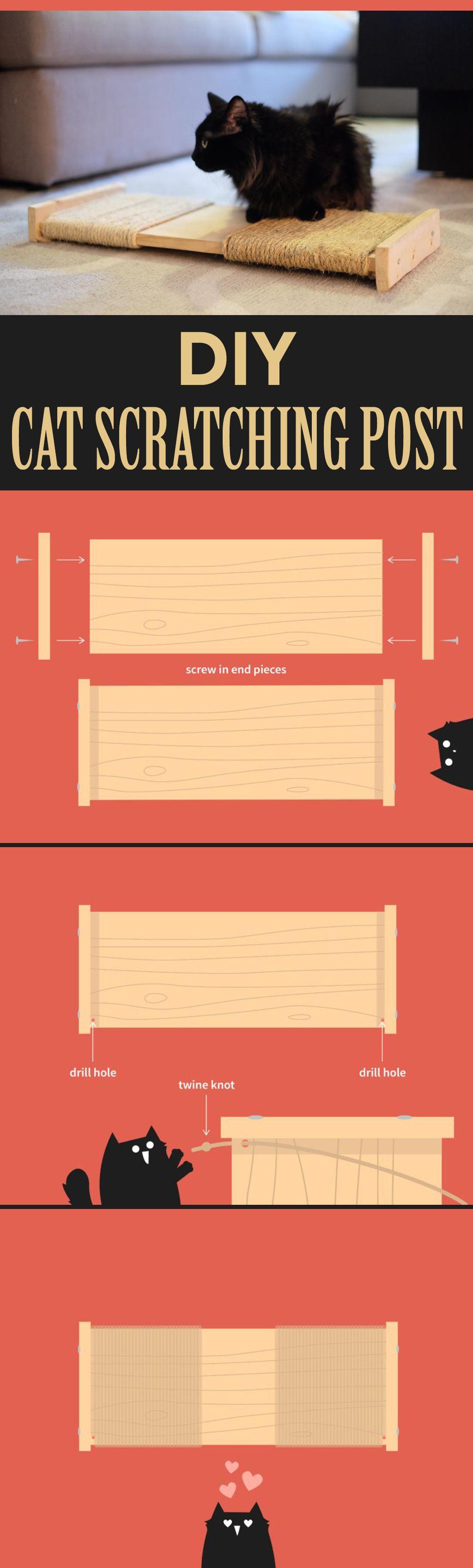 Cat Scratching Post Pad