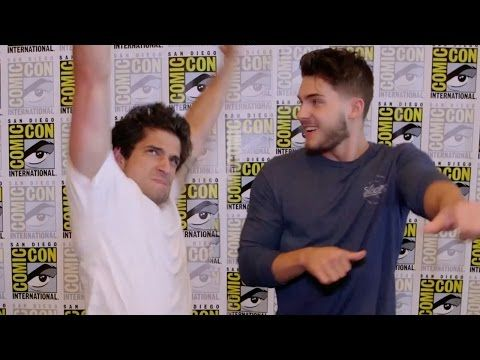"""""""Teen Wolf"""" Cast Play Truth or Dance - Comic Con 2015 - YouTube > it's seriously like 4:00 in the morning and I'm watching Teen Wolf YouTube videos. I CAN'T STOP THEY'RE SO FUNNY"""