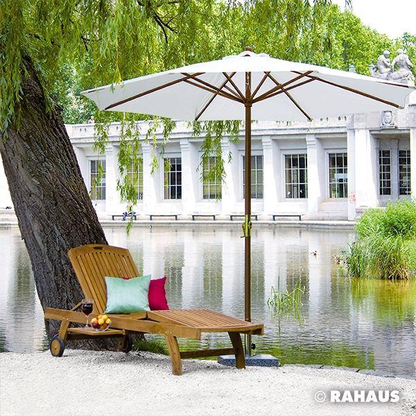 Gartenmöbel #Garten #Sonnenliege #Sonnenschirm #Möbel #Entspannung ...