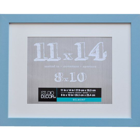 Studio Decor Mineral Blue Belmont Frame With Mat By Studio Decor In Mint Blue Studio Decor Frame Decor