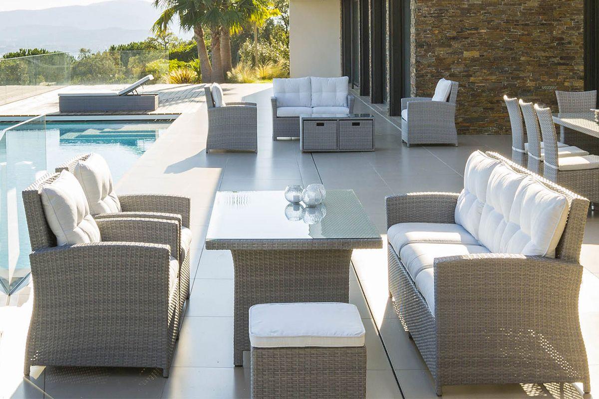 SALON REPAS CUBA | salon de jardin/coin repas extérieur en ...