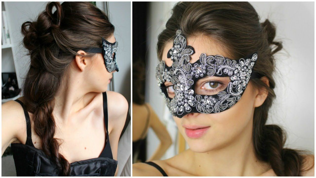 masquerade hairstyle | hair | ball hairstyles, party