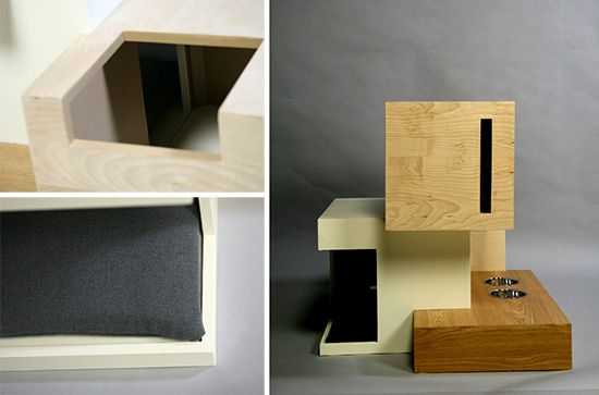 Habitat 11 Modern Cat House By Sarah Chou Cat House Diy Modern