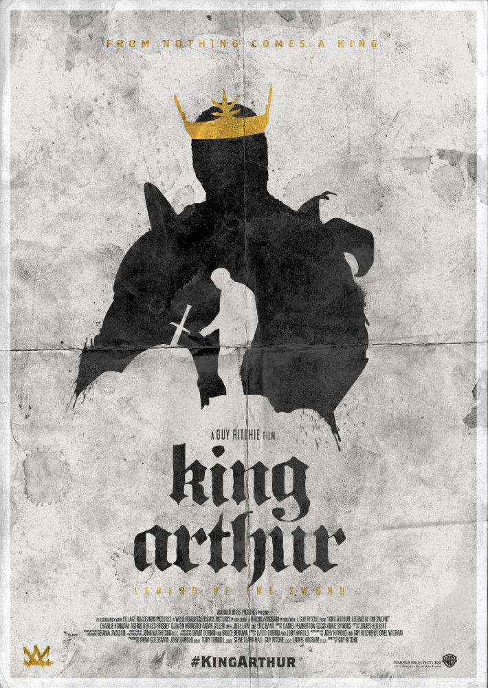 KING ARTHUR: Legend of the Sword alternative character poster design ...