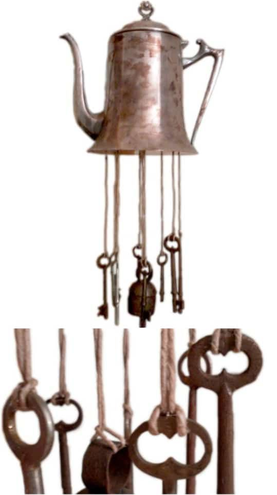 40 Relaxing Wind Chime Ideas To Fill Your Outdoors With Beautiful Sounds #uniquecrafts