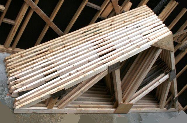 Lu0027autoconstruction et lu0027installation de fermes de toit (TRUSS en