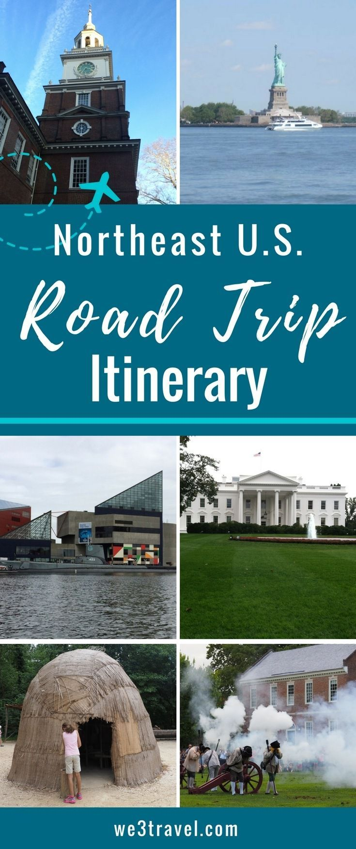 Planning a Northeast Road Trip with Kids #roadtrip