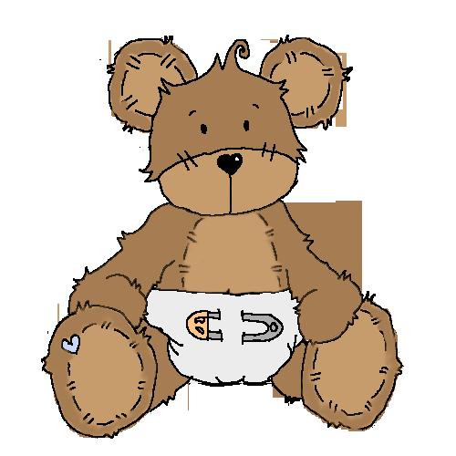 Ellephantastic Challenges Mid Month Surprise Inspiration Cute Animal Clipart Teddy Bear Clipart Baby Teddy Bear