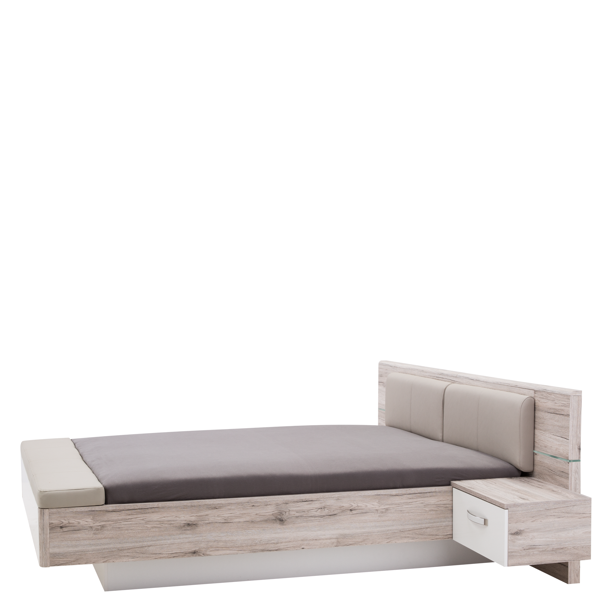 łóżko I Szafki Nocne Rondino Rdnl161b Salony Agata