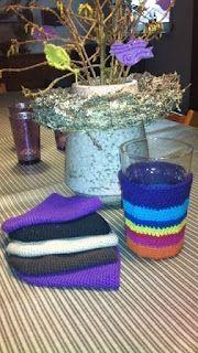 Betræk til Ikea glas. Holder på varmen, når du bruger glasset til bla. kaffe. Eller brug glasset til urtepotte, vase, blyanter, tandbørster osv.