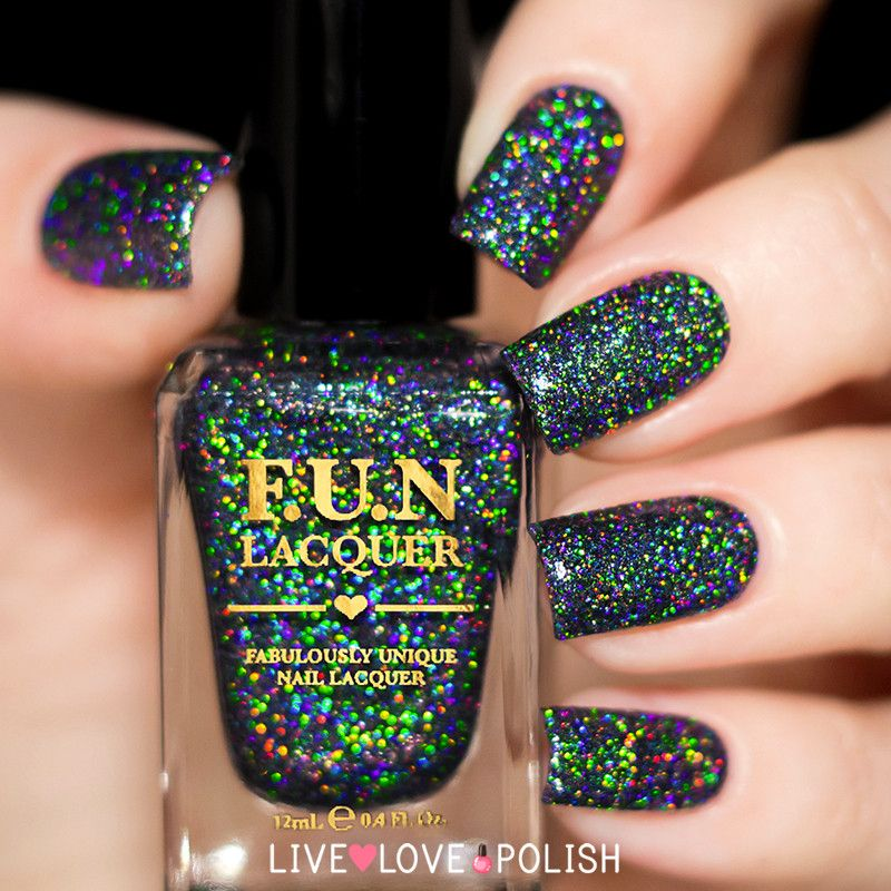 Black Holo Witch | Fun lacquer, Witches and Collection
