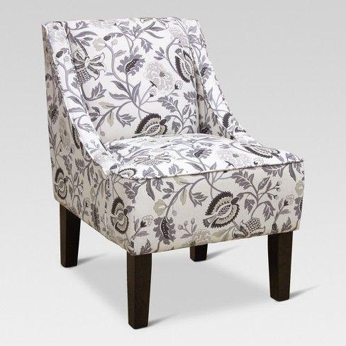 Hudson Swoop Arm Chair - Threshold : Target | Chair ...