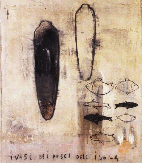 Pizzi Cannella, I vasi dei pesci dell'isola, 2009