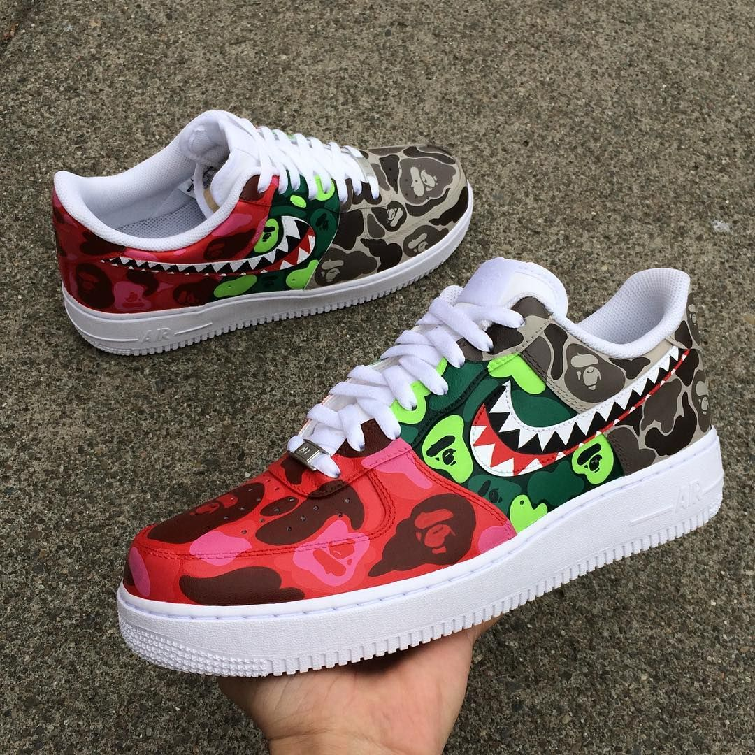 meet efaed 94483 BAPE x Nike Air Force 1