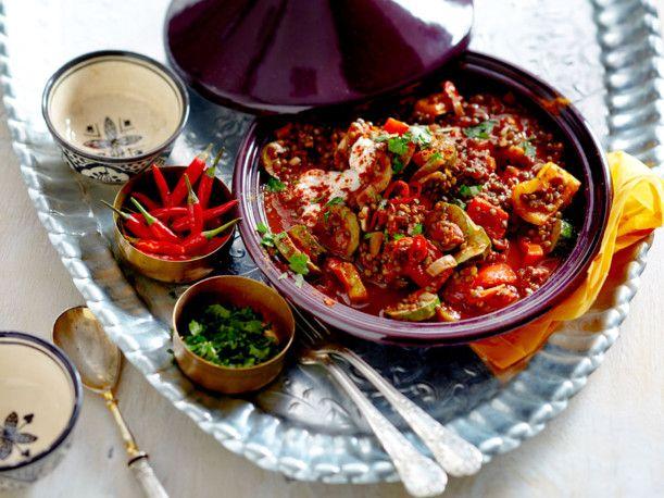 die besten 25 tajine rezepte vegetarisch ideen auf pinterest gerichte mit couscous couscous. Black Bedroom Furniture Sets. Home Design Ideas