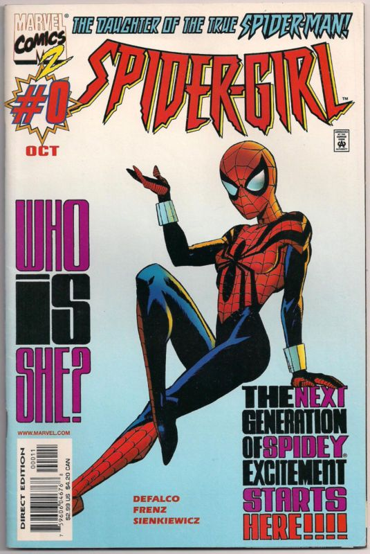 Spider-Girl #0 -The Daughter of the True Spiderman