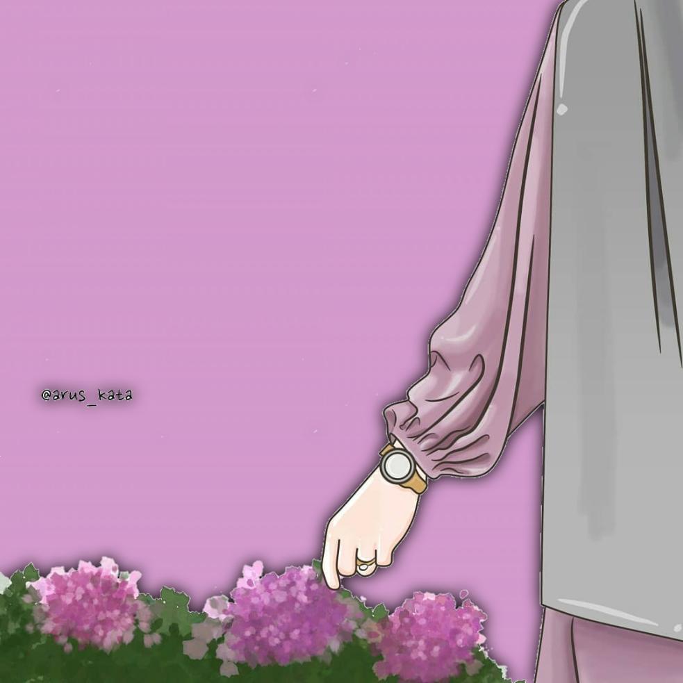 Anime muslimah panosundaki Pin