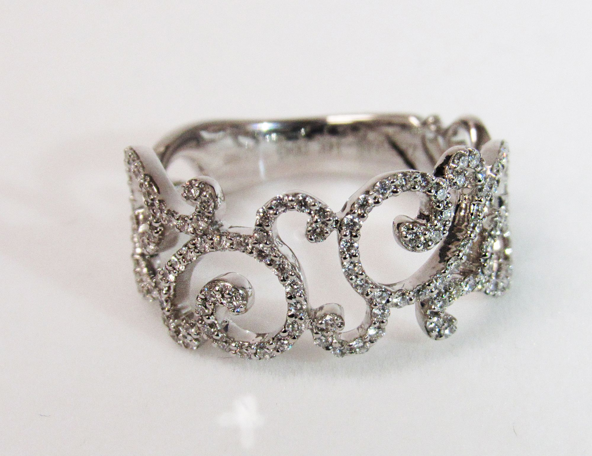 Zeghani diamond weave rings, multiple styles but never changing beauty - Available at Hunt Valley Jewelers