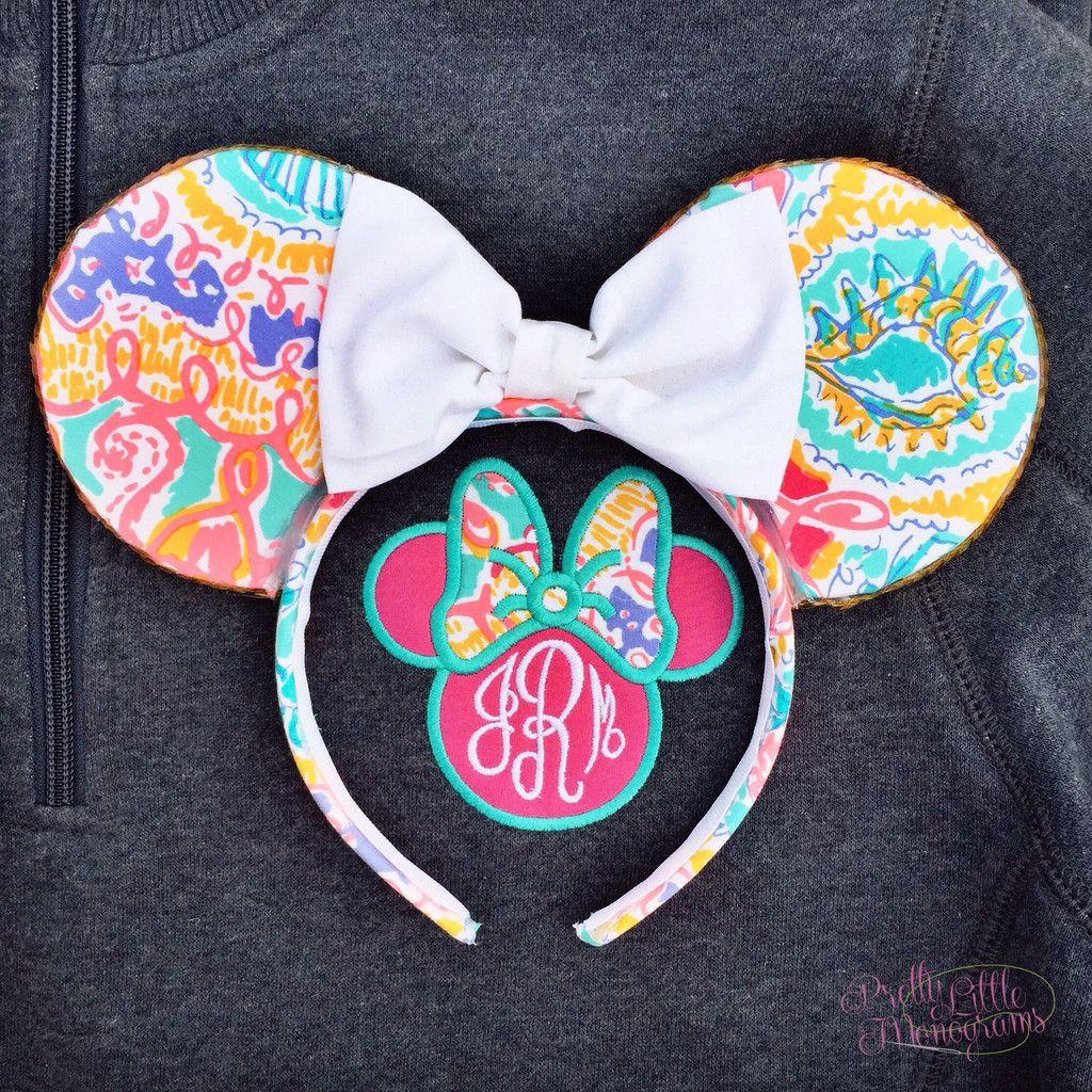 Minnie Monogram Pullover SsCsnp