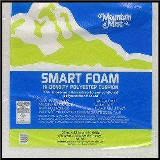 "Mountain Mist 4"" x 22"" x 22"" Smart Foam Pad | Shop Hobby Lobby for the boat cushions!!"