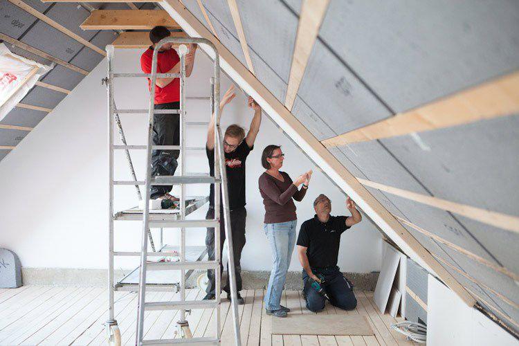 Dämmung Für Neubau Oder Neues Dach Neubau