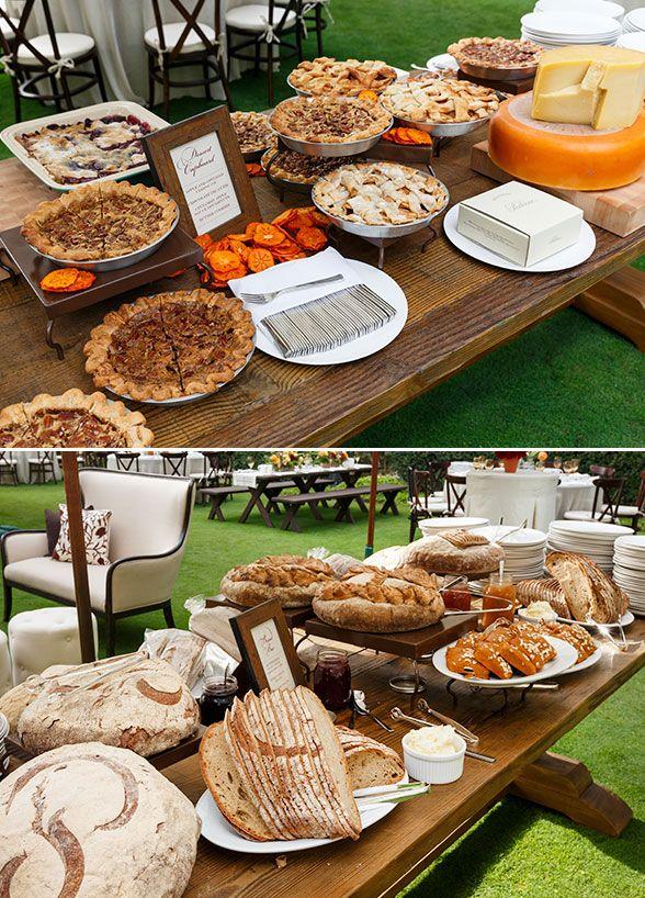 Brunch Garden Outdoor Wedding Reception Ideas